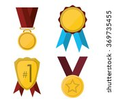 competition icon design  | Shutterstock .eps vector #369735455