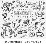Vector Breakfast And Morning...