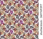 seamless pattern. abstract... | Shutterstock . vector #369769397