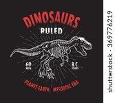 Dinosaur Tyrannosaur Skeleton ...