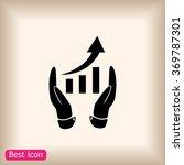 grafhic wit hand icon | Shutterstock .eps vector #369787301
