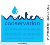 water conservation concept...