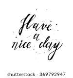 phrase written calligraphic... | Shutterstock .eps vector #369792947