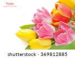 Red  Pink And Yellow Tulips...