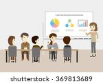 people who have the training... | Shutterstock .eps vector #369813689