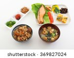japanese cuisine | Shutterstock . vector #369827024