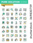 modern thin line icons set of... | Shutterstock .eps vector #369830759