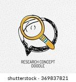 vector multicolored hand drawn...   Shutterstock .eps vector #369837821