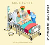 quality of life clinic room... | Shutterstock .eps vector #369858485