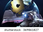 james webb space telescope....   Shutterstock . vector #369861827