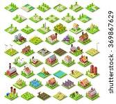 isometric game development... | Shutterstock .eps vector #369867629