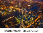 night view city of london. lit... | Shutterstock . vector #369872861