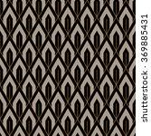 art deco seamless vintage...   Shutterstock .eps vector #369885431