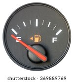 Vehicle Fuel Gauge On Empty....