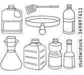vector set of vegetable oil | Shutterstock .eps vector #369897611