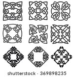 collection of celtic elements | Shutterstock . vector #369898235
