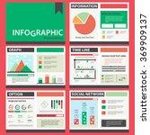 set of infographics... | Shutterstock .eps vector #369909137
