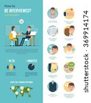 how to be interviewed. vector... | Shutterstock .eps vector #369914174