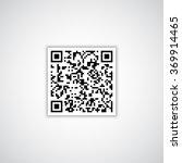 qr code | Shutterstock .eps vector #369914465