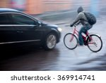 dangerous city traffic... | Shutterstock . vector #369914741
