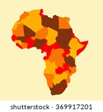 africa map vector illustration... | Shutterstock .eps vector #369917201