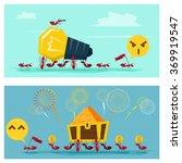 business idea series business... | Shutterstock .eps vector #369919547