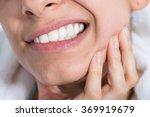 closeup of young woman... | Shutterstock . vector #369919679