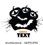 halloween sign | Shutterstock .eps vector #36991990