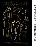 alphabet letters lowercase ... | Shutterstock .eps vector #369921695
