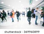 bokeh shopping mall background... | Shutterstock . vector #369960899
