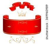 royal background with red... | Shutterstock .eps vector #369960989