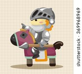knight theme elements | Shutterstock .eps vector #369968969