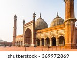 jama masjid  old town of delhi  ... | Shutterstock . vector #369972869