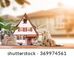 mortgage loading and property... | Shutterstock . vector #369974561