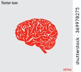 brain icon | Shutterstock .eps vector #369978275