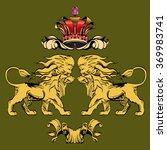 heraldry background for the... | Shutterstock .eps vector #369983741