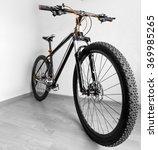 mountain bike standing on the... | Shutterstock . vector #369985265