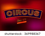 vector circus banner   Shutterstock .eps vector #369988367