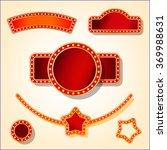 vector circus banner | Shutterstock .eps vector #369988631