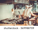 blurred restaurant interior... | Shutterstock . vector #369988709