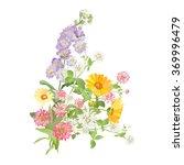 bouquet of flowers | Shutterstock .eps vector #369996479