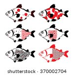 fish | Shutterstock .eps vector #370002704