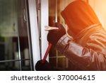 burglar wearing black clothes...