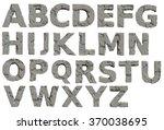 Concrete Stone Alphabet