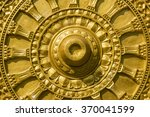 buddha gold carving texture