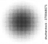 halftone pattern vector | Shutterstock .eps vector #370068071