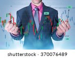 trading master. successful... | Shutterstock . vector #370076489
