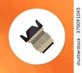 camera lens icon | Shutterstock .eps vector #370091045