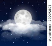background of night sky with...   Shutterstock .eps vector #370092875