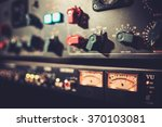 close up amplifier equipment... | Shutterstock . vector #370103081